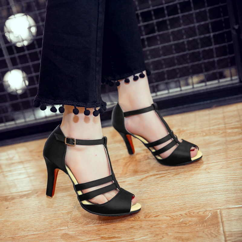 2017 große Größe 34-52 Direct Selling Sale fashion Feminino sommer Sandalen Damen Dame Fashion dance party Schuhe High Heel 997