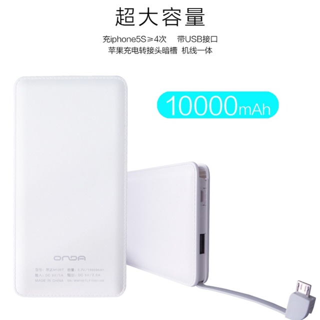 Imitation leather Power Bank 10000mAh External Battery Bank Portable Charger Powerbank For iPhone iPad Samsung Android Phones