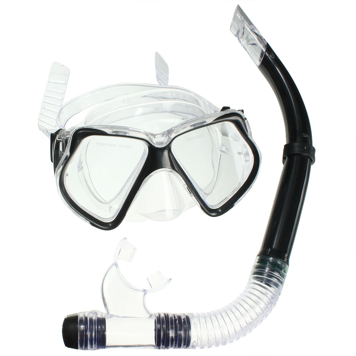 Silicone Tempered Glass Professional Diving Equipment Diving Mask Spearfishing Gear Scuba Diving Equipment Dive Mask+Snorkel