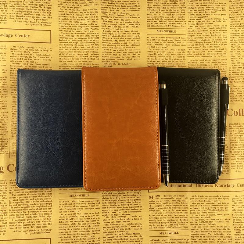 RuiZe Multifunctionele kleine notebook A7 planner lederen zak - Notitieblokken en schrijfblokken bedrukken - Foto 2