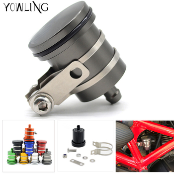 CNC Motorcycle Brake Fluid Reservoir Clutch Tank Cylinder Master Oil Cup For BMW F700GS F650GS K1200R K1200R SPORT K1200S R1200 image