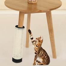 Natural Sisal Pet Cat Scratching Post Pad Protecting Furniture Mat Cat Scratcher board Toy cat Climbing Gripper toy(China)