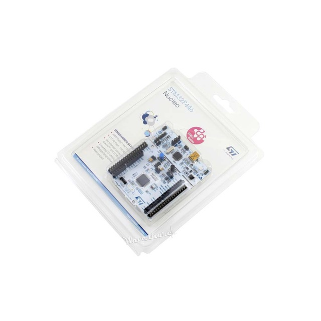 ST Original NUCLEO F446RE STM32 Nucleo Board con STM32F446RET6 MCU, para F4 Series,Embedded Foftware LQFP64 Package