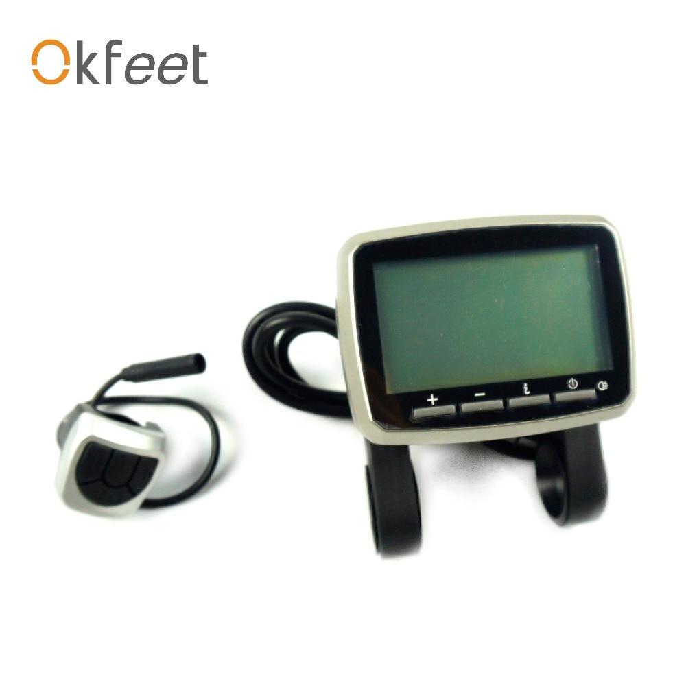 TSDZ2 Ebike LCD Colour Screen Display 500C For Tongsheng Mid Motor