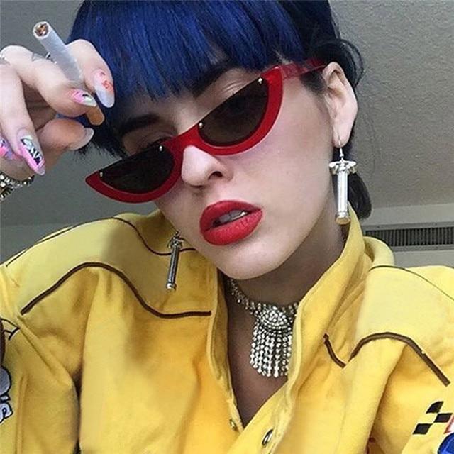 bda19339625 ... Square Sun Glasses UV400 Eyewear  2A18 Best Price. Best Price New Women Small  Cat Eye Sunglasses Cycling Eyewear Vintage Men Brand Designer Red Shades