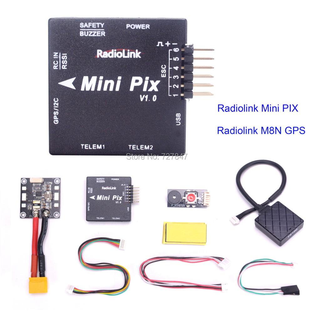 New Radiolink MINI PIX Pixhawk basic configuration flight controller TS100 M8N 8N GPS Model for RC Racing Drone FPV Quadcopter книга школа семи гномов второй год обучения большой маленький