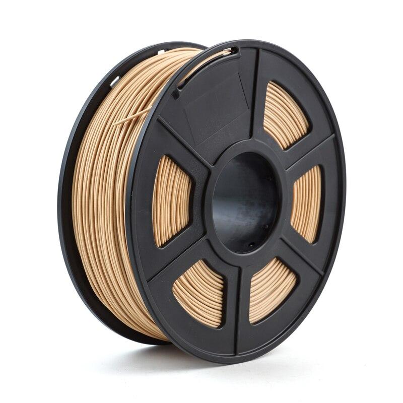 Нить для 3d-принтера, древесина 1,75 мм, 1 кг/2,2 фунта, деревянный пластиковый состав на основе PLA содержит деревянный порошок