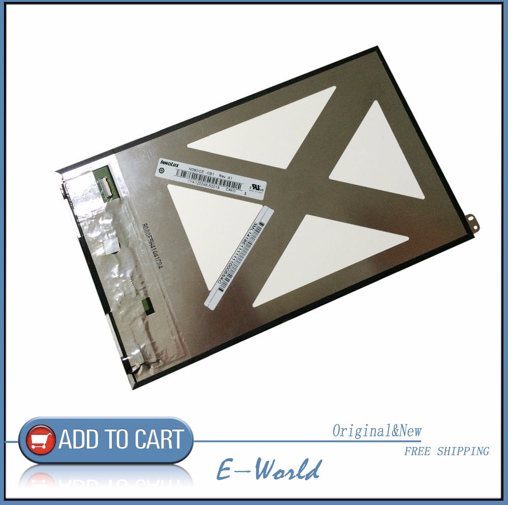 Original LCD screen N080ICE GB1 Rev A1 for ASUS MeMO Pad 8 ME180 ME180A K00L Teclast