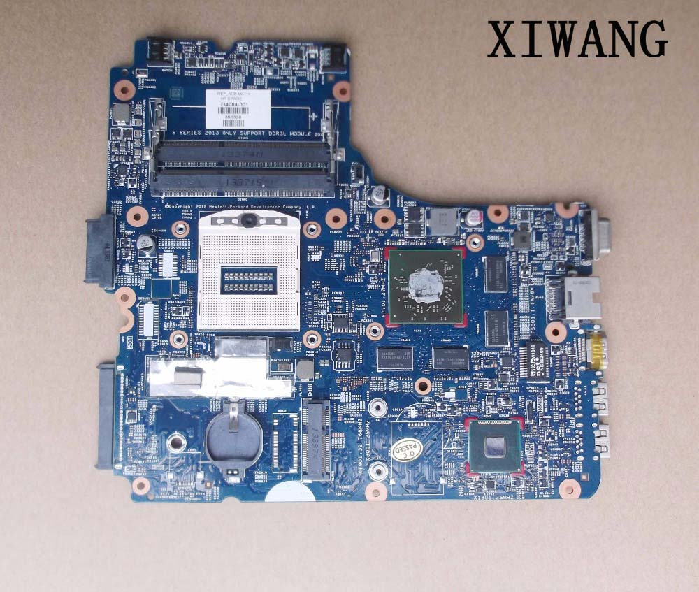 746629-601 Free Shipping 48.4YW05.011 746629-001 746629-501 laptop motherboard for HP Probook 450-G1 470 440 G1 Notebook PC 756188 001 756188 501 48 4yw05 011 756188 601 for hp probook 440 g1 450 g1 notebook motherboard 4th generation free shipping