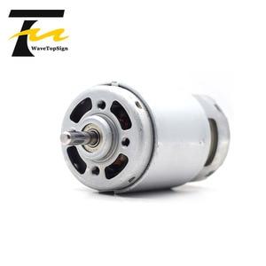 Image 3 - 997 강력한 DC 모터 입력 전압 DC12 36V 고속 모터 자동 볼 베어링 모터