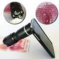 400x profesional microscopio óptico lente de la cámara para el iphone 5s 6 maro 7 plus para samsung s5 s6 led de luz de flash con el teléfono caso