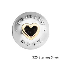 925 Sterling Silver Jewelry Family & Love Charm Clip Fit Pandora Bracelet for Women jewelry Making Mother's Day Gift