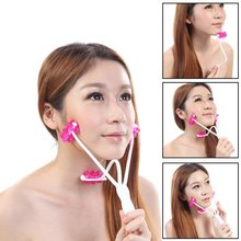 Face Up Roller Massager Facial Neck Slimmer Remove Chin Neck 2 in