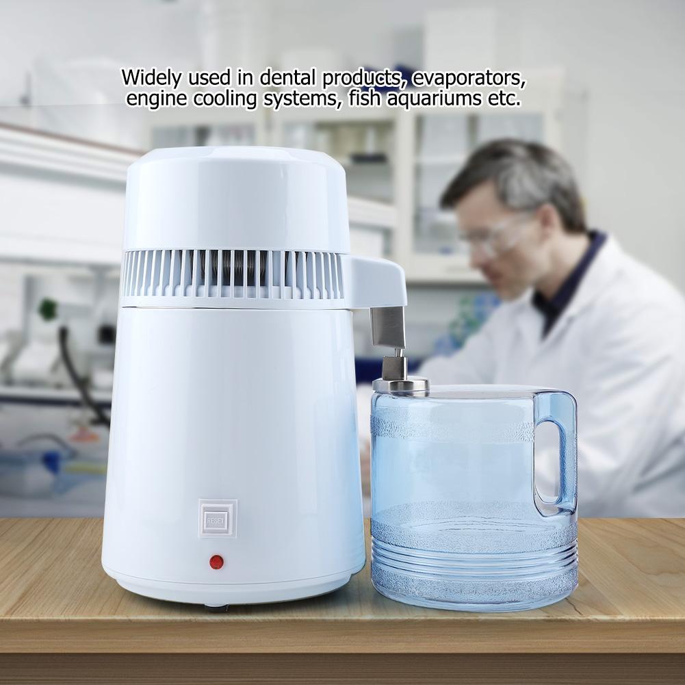 Distillateur D'eau En Acier inoxydable Machine Purificateur D'eau 4L distillateur d'eau des ménages bière moonshine Distiller