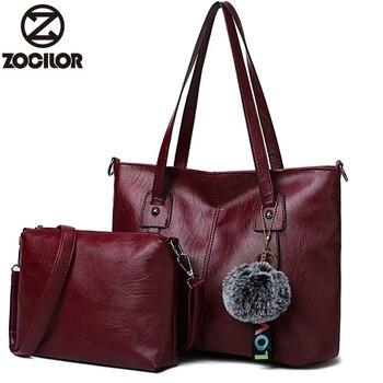 NEUE Marke Luxus frauen Handtasche 2 teile/satz Verbund Taschen Set Frauen Top-Griff Taschen Tasche Weibliche Geldbörse Kupplung handtaschen sac ein haupt