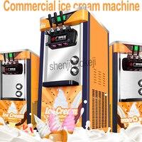 Трехцветный Рабочий стол для производства мягкого мороженого машина 220 V/100 vvertical make мороженое интеллектуальная подсластитель мороженого 1 ш