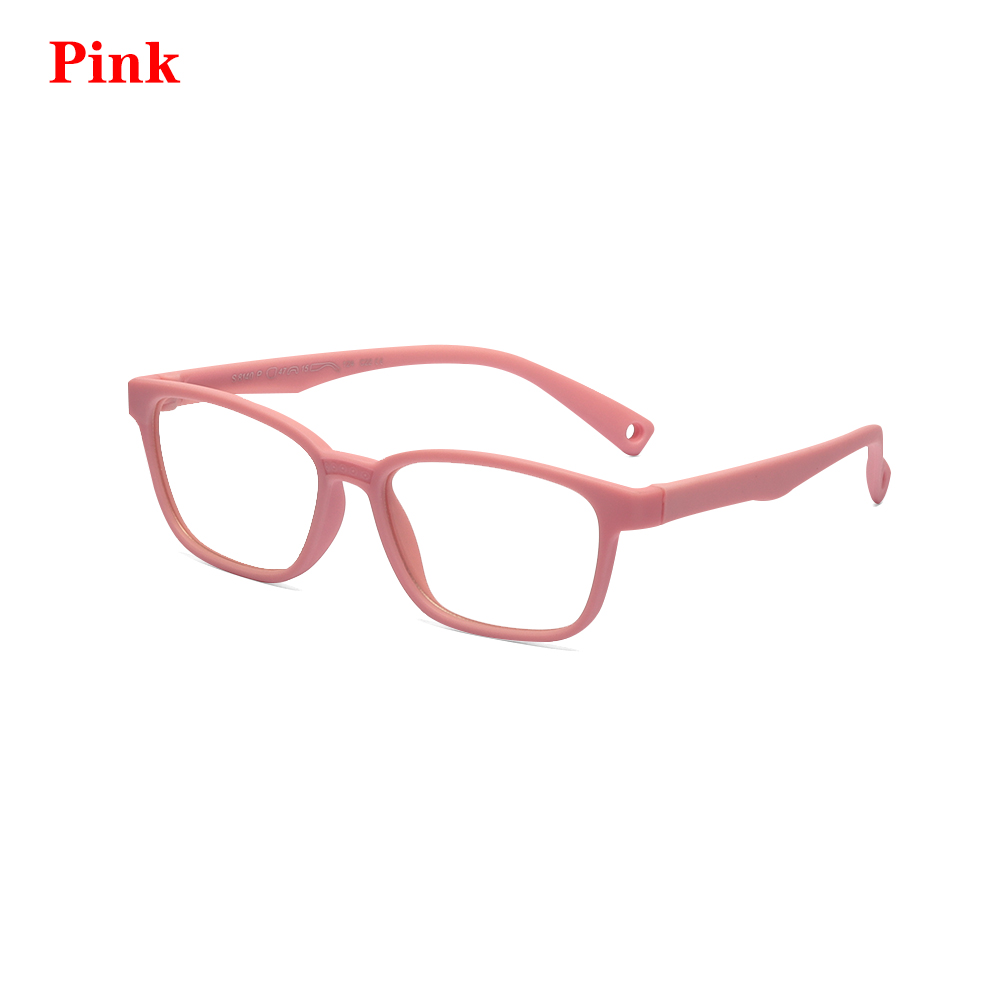 New Children Glasses Frame Anti-blue Rays Glasses Soft Silicone Frame Children Flexible Protective Computer Goggles Eyeglasses