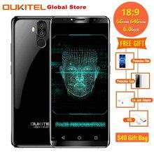 OUKITEL K6 6300mAh MT6763 Octa Core 6 0Inch 18 9 Full Screen 6GB font b RAM