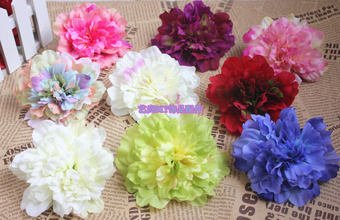 11cm large silk flowers decorative flowerartificial flower heads 11cm large silk flowers decorative flowerartificial flower heads for diy wrist corsagekissing ballswedding car hat decoration in artificial dried mightylinksfo