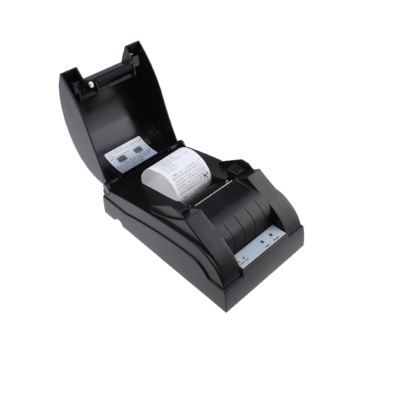 Pos 58mm Ethernet themal receipt printer with speed 90mm/s and support multiple languages hot sale shop supermarket HS-589TL new hot thermal printer 5890t supermarket takeaway intelligent bluetooth food and beverage printer 90mm s 57 5 0 5mm 220v
