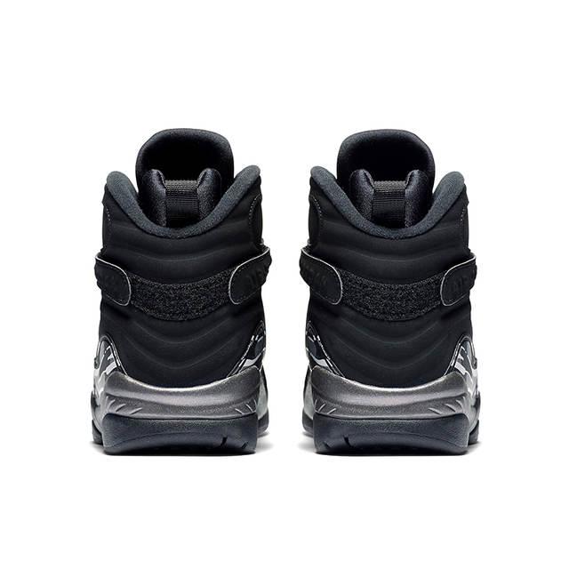 c9b2fb65e32 placeholder Original NIKE Air Jordan 8 Joe 8AJ8 Black and Silver Triple  Engraved Men's Basketball Shoes Sneakers