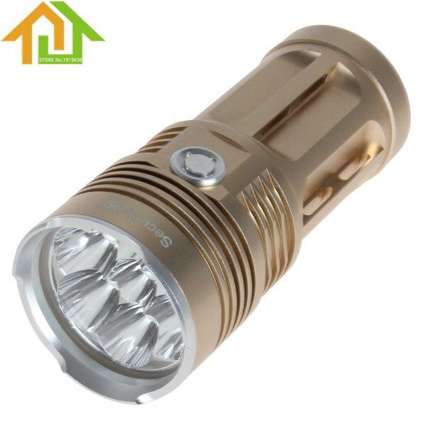 ФОТО 8400LM SecurityIng  7x XM-L2 U2-1A LED Super Bright & Waterproof Stocky Flashlight