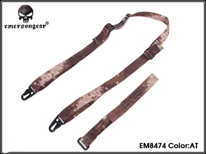 Армейская военная техника страйкбол Пейнтбольного ружья слинг походные EMERSON P90 специальные Эмерсон черный 1000D нейлон