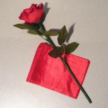 Auto soie à Rose 3.0/tour de magie en soie, livraison gratuite, magie de carte, tour de magie de feu jouets classiques