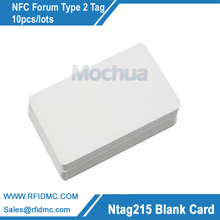 NFC Card Ntag215 Card with NTAG215 chip Amiibo tag for TagMo-10pcs