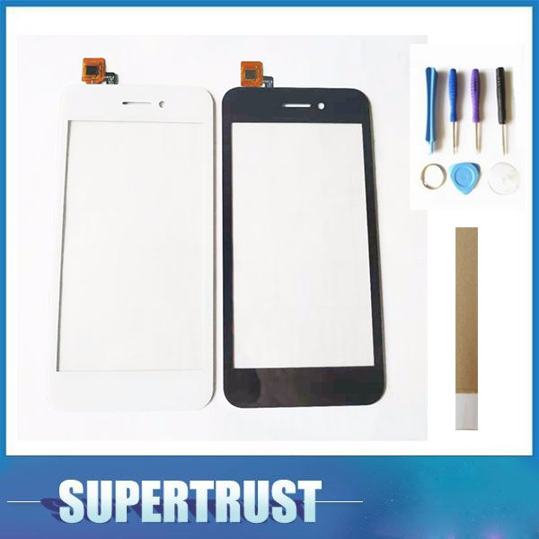 4.5For Fly FS459 Nimbus 16 Touch Screen Digitizer Glass Black White color With tape&Tools image