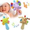 Neugeborenen Baby Spielzeug 0-12 Monate Cartoon Tier Baby Plüsch Rassel Mobile Glocke Spielzeug Infant Kleinkind Frühen Pädagogisches Spielzeug speelgoed
