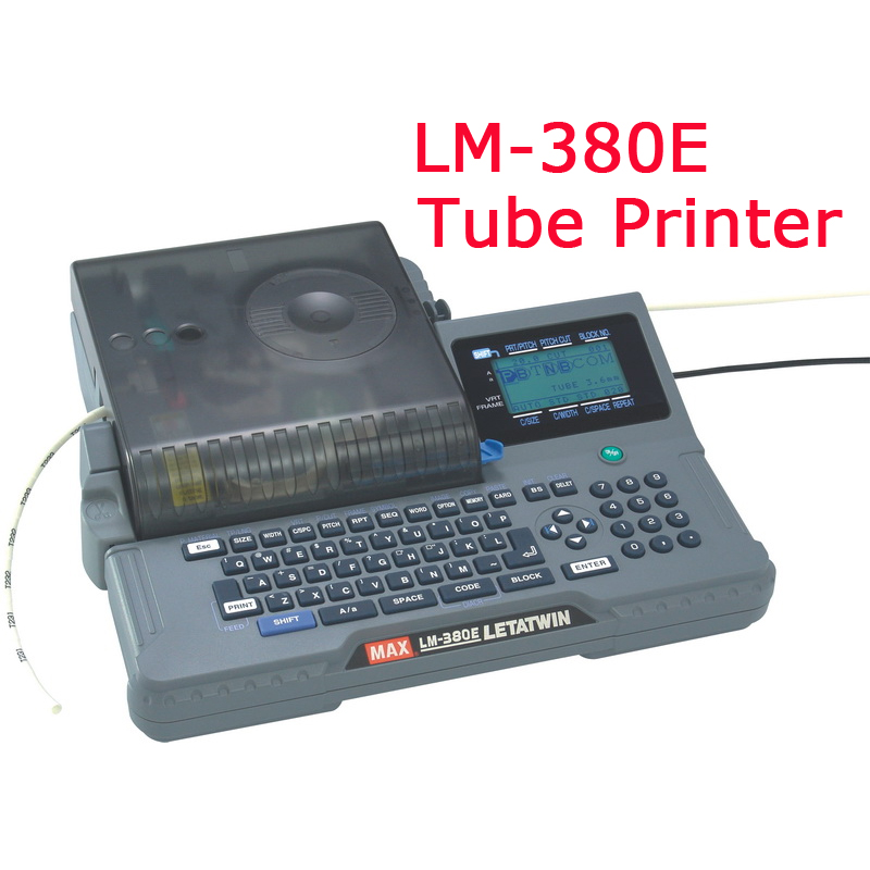 Line Mark Printer Cable ID Printer Can Connect PC Electronic Lettering Machine PVC Tube Printer Wire Mark Machine 100V~240V