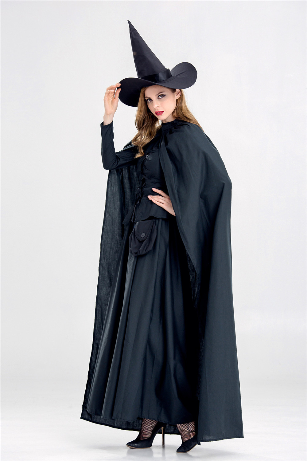 Cosplay Medieval Dress Robe Women Renaissance Dress Princess Queen Costume Court Maid Halloween Costume Vintage Hooded Gown