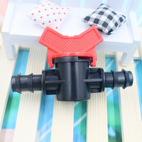 20pcs Pack Dn20 Water Hose Switch Equal Coupling Pipe Valve Home Garden Drip Irrigation Tools Greehouse