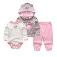 2015 New Carters Baby Boy Clothing Set 3pcs Suits Coat Bodysuit Pants Cotton Long Sleeve Winter