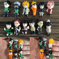 12 pcs/set Naruto Action Figure Naruto Sasuke Kakashi PVC Model Small Size Anime Collection Figure High Quality Kid Toy