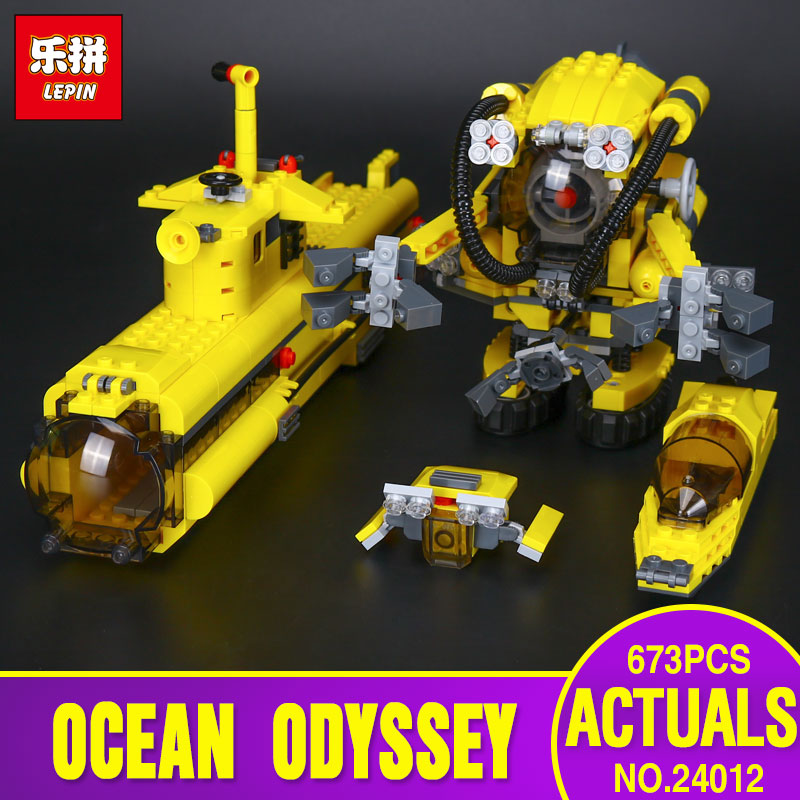Lepin 24012 New Creative The Underwater Explora Ship Set Children Educational Building Blocks Bricks Educational Toys Model 4888 new lepin 16042 pirate ship series building blocks the slient mary set children educational bricks toys model gift with 71042