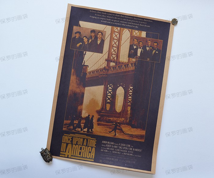 Once Upon A Time Home Decor Part - 41: ONCE UPON A TIME IN AMERICA Classical Old Movie Posters, Vintage Kraft  Paper Paintings For Home/Bar Decoration