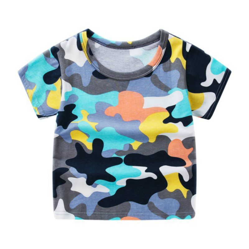 05f38db8 Summer Boys Short Sleeve T Shirts Cartoon Minions Print T-shirt Cotton  Camouflage Tee Shirt Baby Boy Tops For Kids Clothing ~ Super Deal June 2019