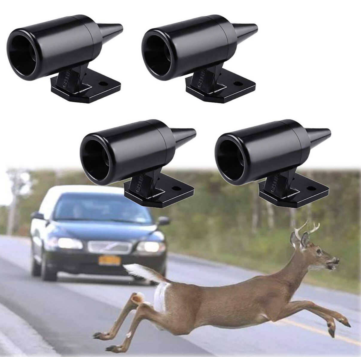 1pc Animal Deer Warning Alarm Bicycle Car for subaru forester jeep grand cherokee ford f150 toyota highlander mitsubishi lancer