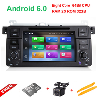 Android 6 0 1 7 Inch Car DVD Player For BMW E46 M3 Rover 3 Series