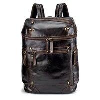 Мода молодой мальчик рюкзак пояса из натуральной кожи для мужчин школьные рюкзаки сумки подросток дорожные сумки мужской ноутбук