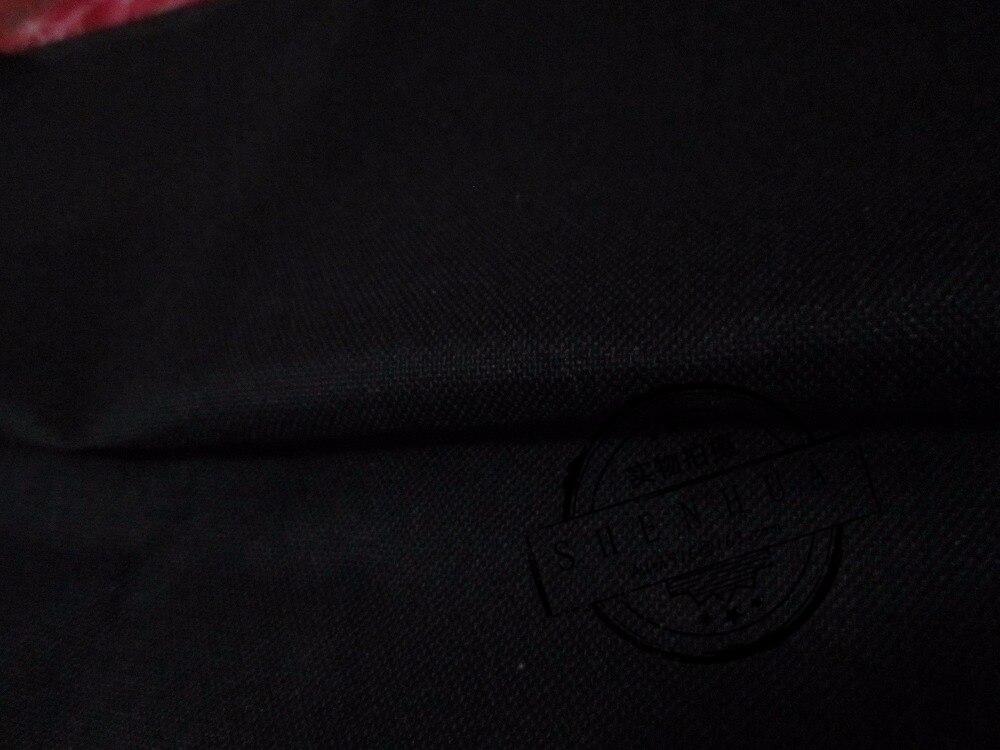 Cloth Fabric Cordura 1000d Nylon Waterproof Anti-Tear-Cloth. Black Abrasion-Resistant-Fabric
