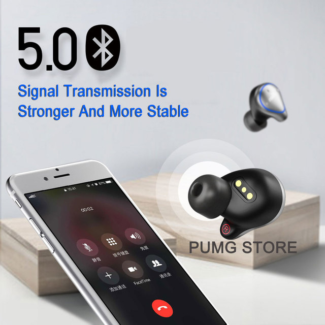 Business Sport bluetooth Earphone O5 Stereo Ultra mini invisible Wireless Earbuds Professional earphones.