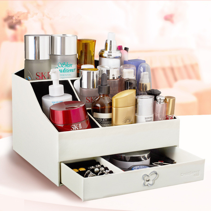Jewelry Storage Organizer Packaging Box Casket Box For Jewelry Exquisite Makeup Case Jewelry Container BirthdayMothers Day Gift
