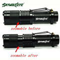 High Quality Super Bright  CREE XML T6 Tactical Zoomable 5000 Lumen LED Flashlight Torch Lamp  led taschenlampe 5000 lm