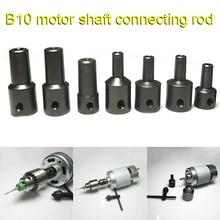 4-12mm Motor Shaft Drill Clamp Chuck Coupling Coupler Connector Sleeve Screw KM88 стоимость