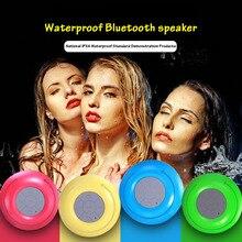 Mini Ventosa À Prova D' Água Bluetooth Speaker Subwoofer Carro sem fio Bluetooth Caixa de Som MP3 Hnadsfree Chuveiro Portátil Speaker