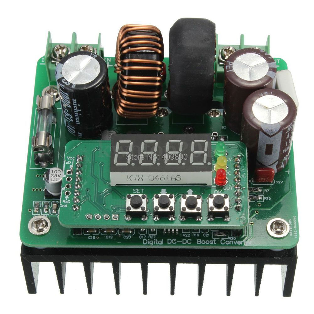 20pcs Lot Dc 400w 6v 40v 12v 24v To 8v 80v Converter Boost Step Up Circuit Power Supply Module New In Inverters Converters From Home Improvement On