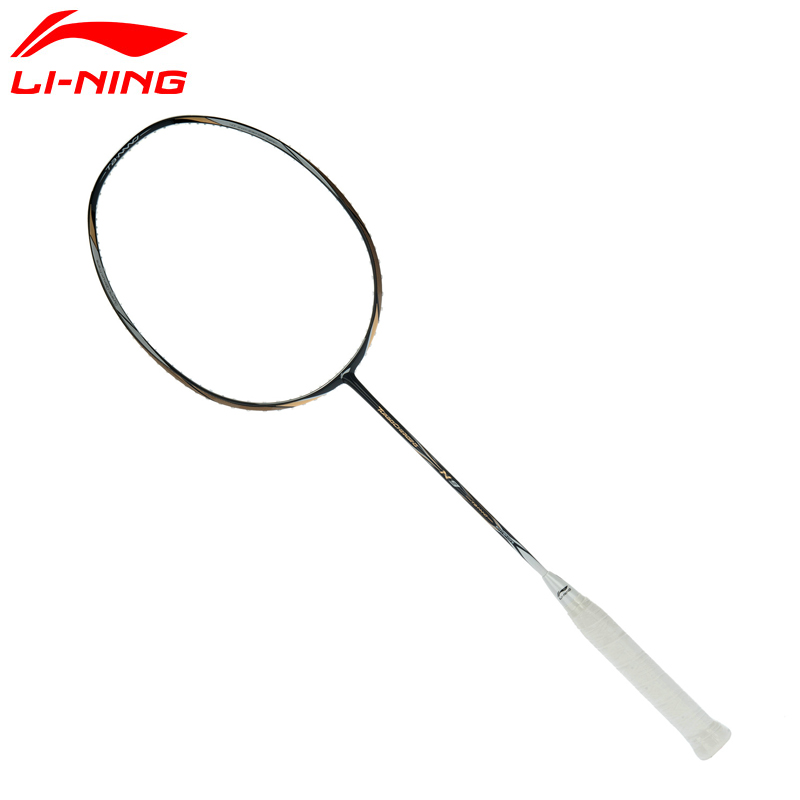 Li-Ning Professional Badminton Racket N9 Offensive Type Graphite Fiber Single Racket AYPH156 KZQ1076 original li ning men professional basketball shoes